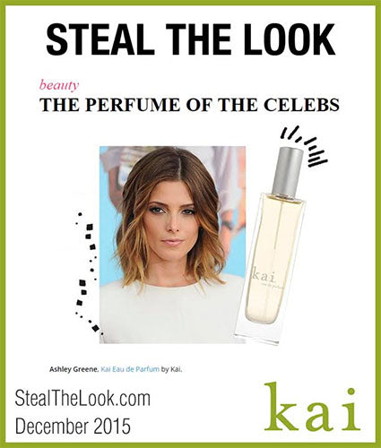 kai fragrance featured in stealthelook.com december 2015