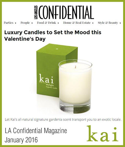kai fragrance featured in la confidential january 2016