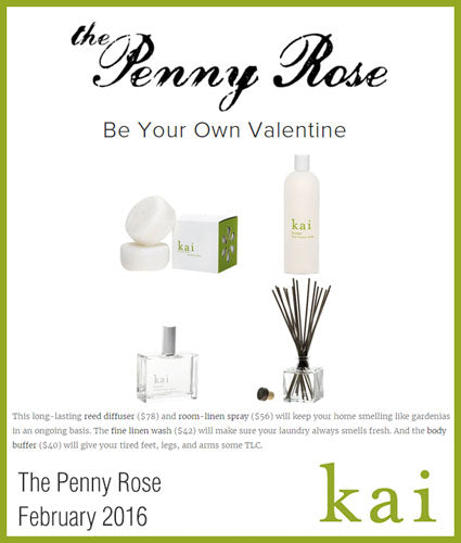 kai fragrance featured in the penny rose february 2016
