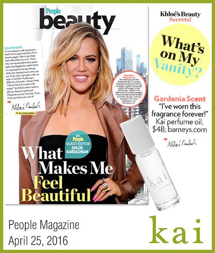 kai fragrance featured in people magazine april 2016