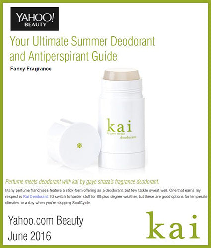 kai fragrance featured in yahoo.com beauty june 2016