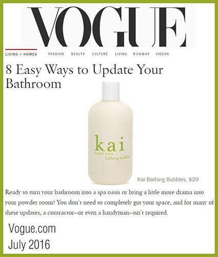 kai fragrance featured in vogue.com july 2016