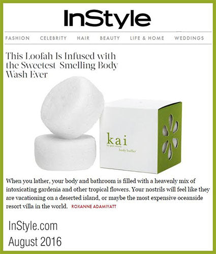 kai fragrance featured in instyle.com august 2016