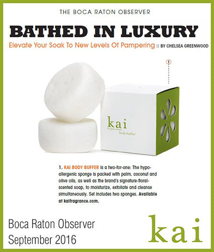 kai fragrance featured in the boca raton observer september 2016