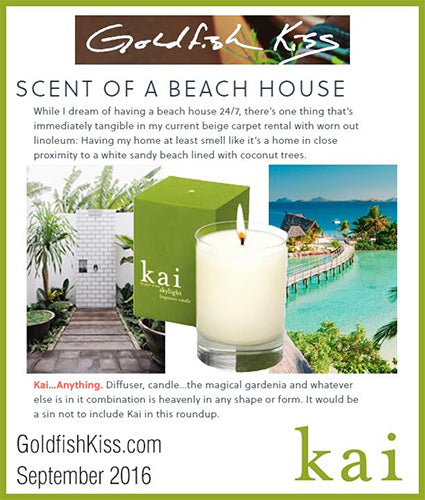kai fragrance featured in goldfishkiss.com september 2016