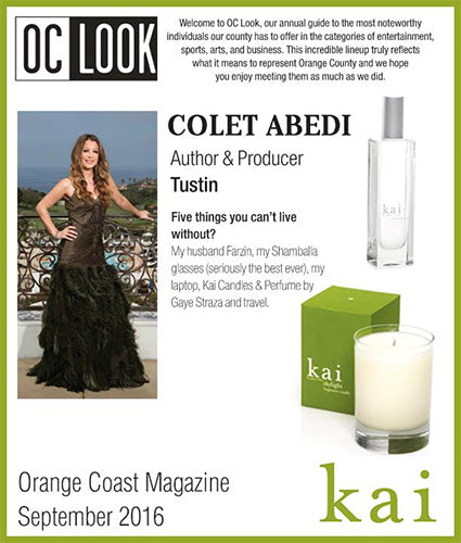 kai fragrance featured in orange coast magazine september 2016