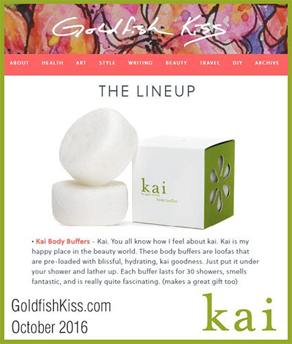 kai fragrance featured in goldfishkiss.com october 2016