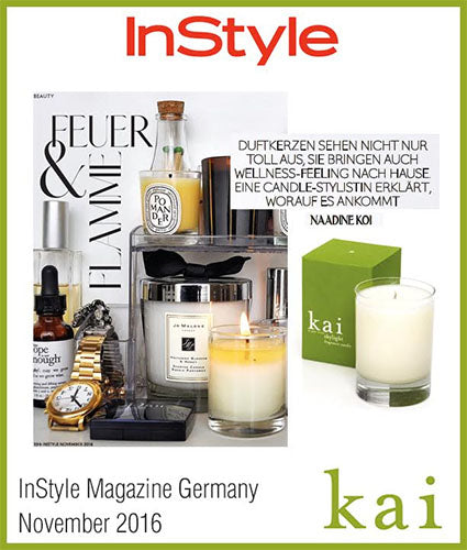 kai fragrance featured in instyle germany november 2016