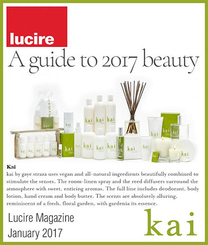 kai fragrance featured in lucire magazine january 2017