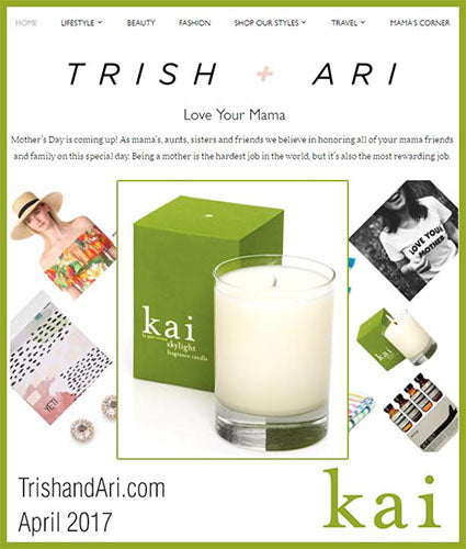 kai fragrance featured in trishandari.com april 2017