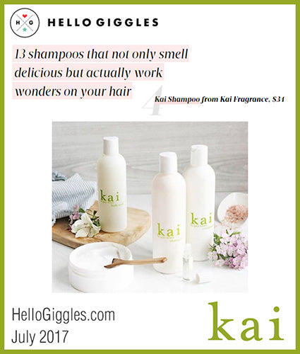 kai fragrance featured in hellogiggles.com july 2017