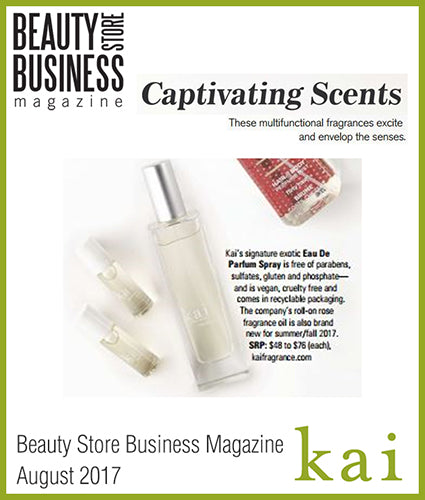 kai fragrance featured in business insider august 2017