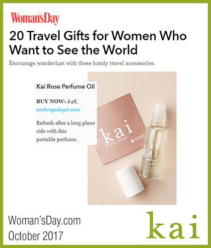 kai fragrance featured in womansday.com october 2017