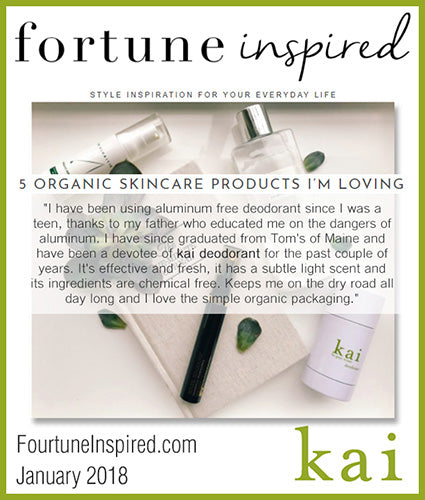 kai fragrance featured in fortuneinspired.com january 2018
