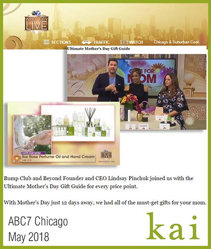 kai fragrance featured in abc7 chicago may 2018