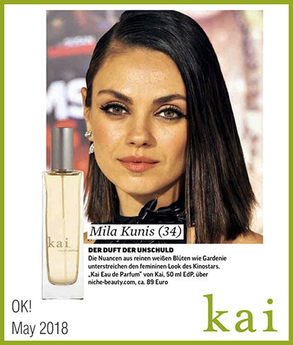 kai fragrance featured in ok may 2018