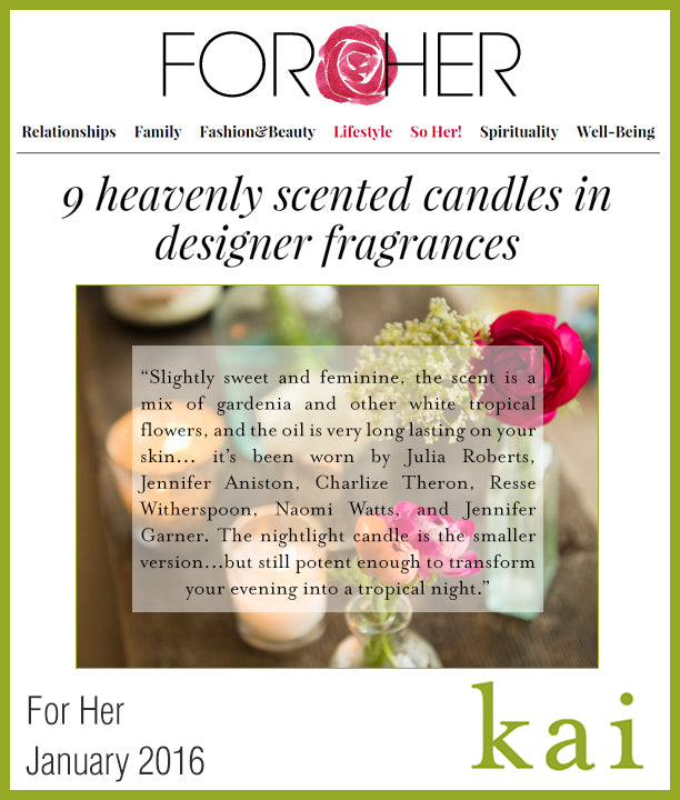 kai fragrance featured in for her january 2016