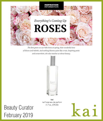 kai featured in beauty curator