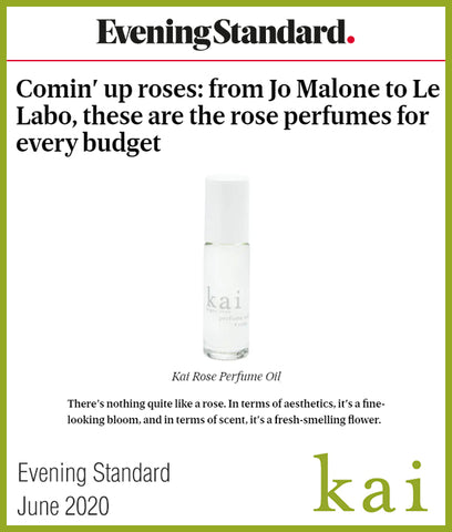 rose perfumes for every budget - kai rose - eveningstandard - june 2020