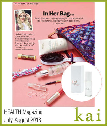 kai featured in health magazine july 2018