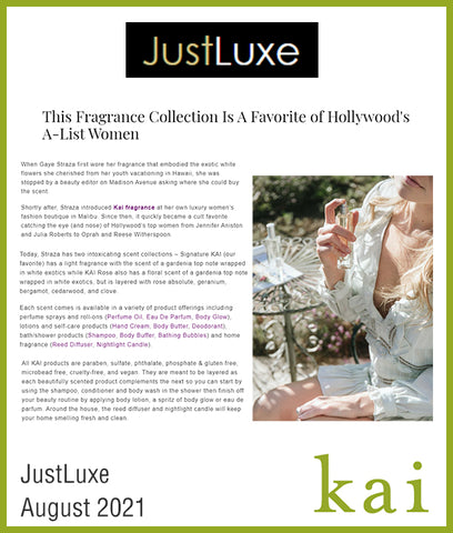 justluxe<br>august 2021