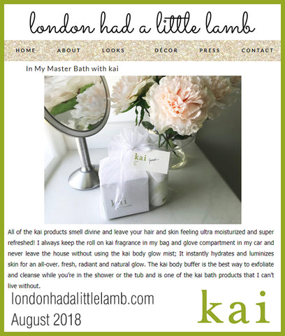 kai featured on londonhadalittlelamb.com