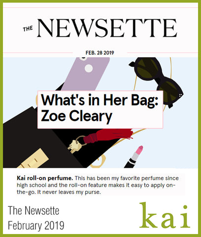 kai featured on the newsette february 2019