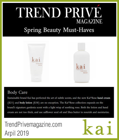 kai featured on trendprivemagazine.com april 2019