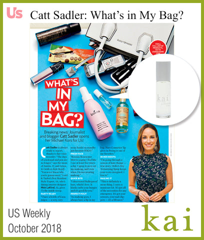 kai featured in us weekly october 2018