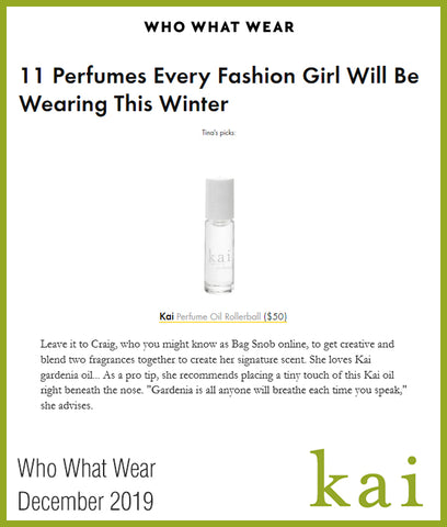 kai perfume oil - who what wear - december 2019