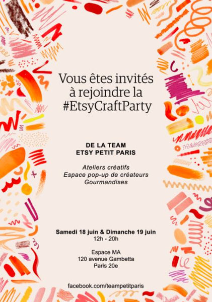 Etsy Craft Party à Paris