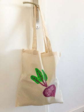 Tote bag betterave - Kraftille