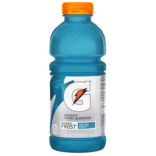 Gatorade Cascade Crash