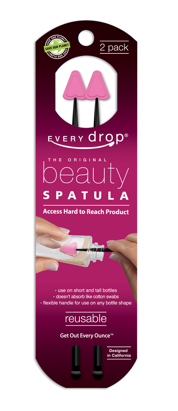 Every Drop Beauty Spatula - 2 pack