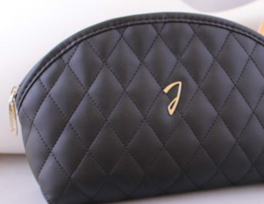 Quilted Black Beauty Bag Kit - Small