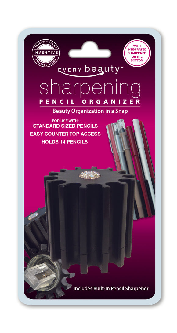 Sharpening Cosmetic Pencil Organizer