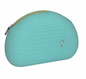 Silicone Cosmetic Bag - Aqua