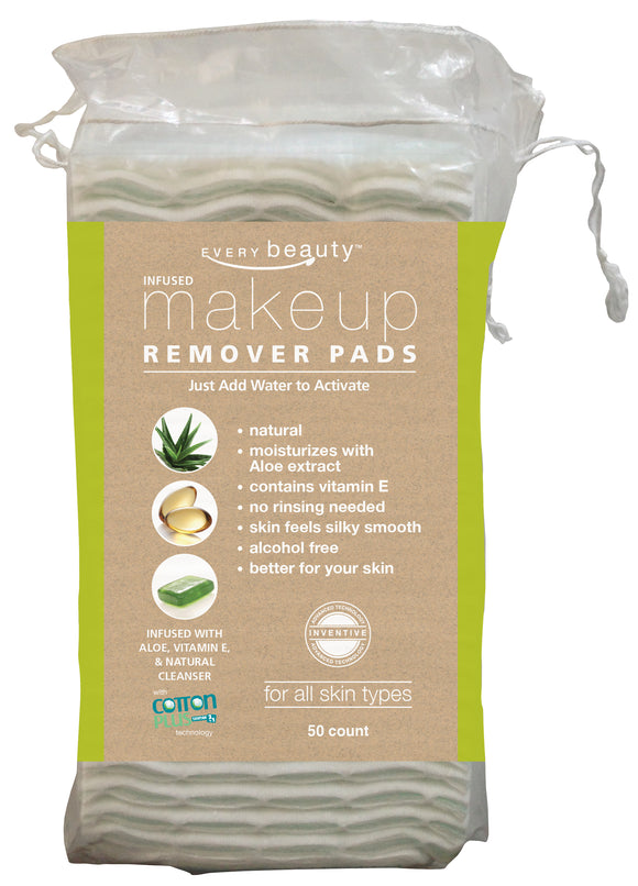Every Beauty Makeup Remover Pads - Aloe