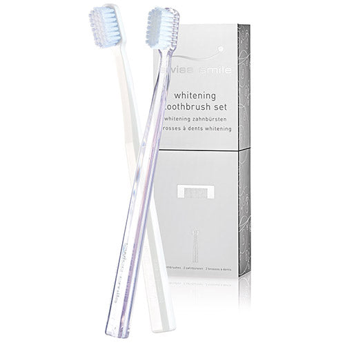 Snow Flower Whitening Toothbrush - 2 Pack