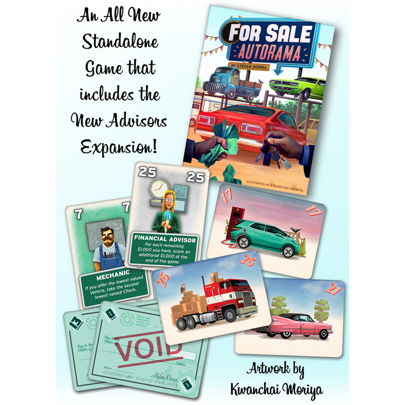 For Sale Autorama & For Sale: Advisors Expansion (Full House Pledge)