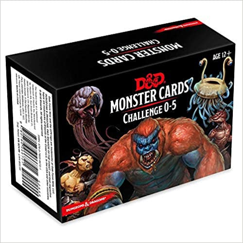 Dungeons and Dragons: Monster Cards - Challenge Deck 0-5