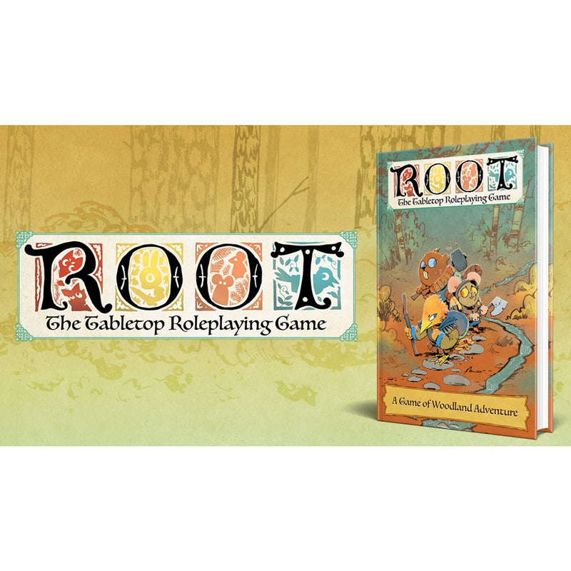 Root: The Tabletop Roleplaying Game (Deluxe Books and Satchel Pledge)