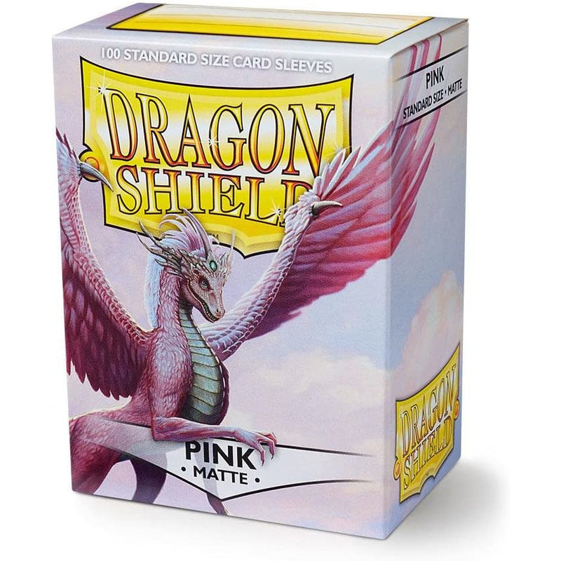 Dragon Shield 100 Pack: Matte Pink