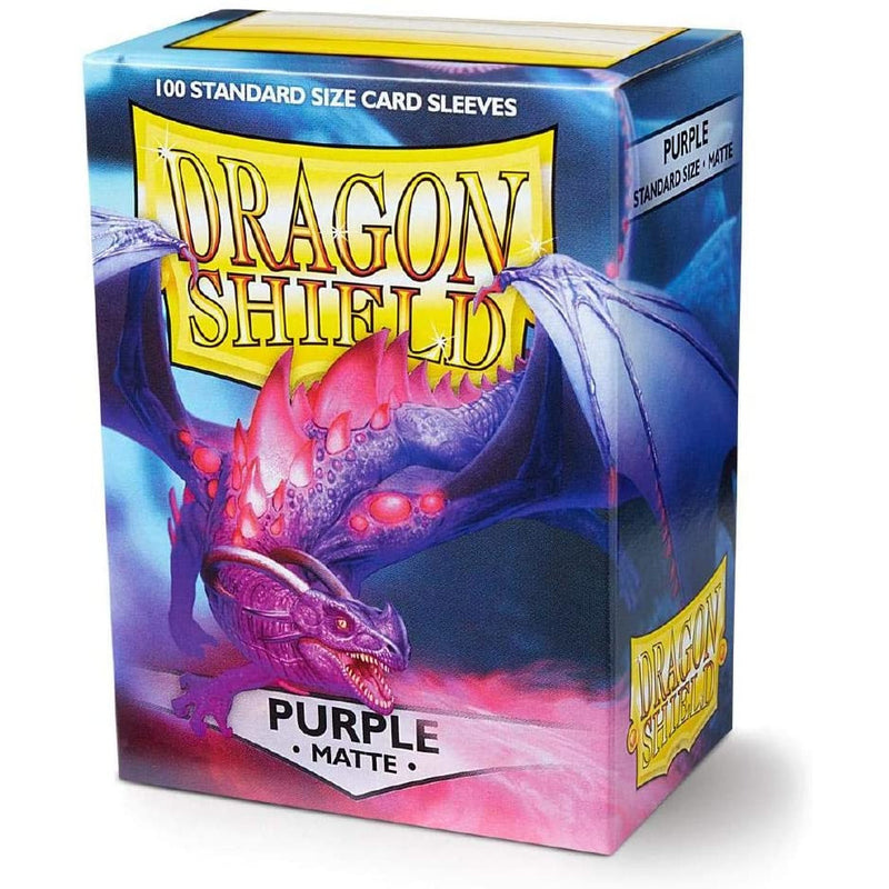 Dragon Shield 100 Pack: Matte Purple
