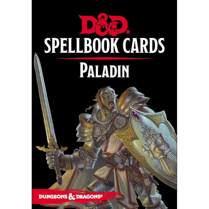 Dungeons and Dragons: Spellbook Card - Paladin