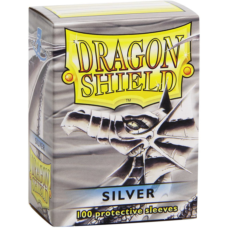 Dragon Shield 100 Pack: Silver
