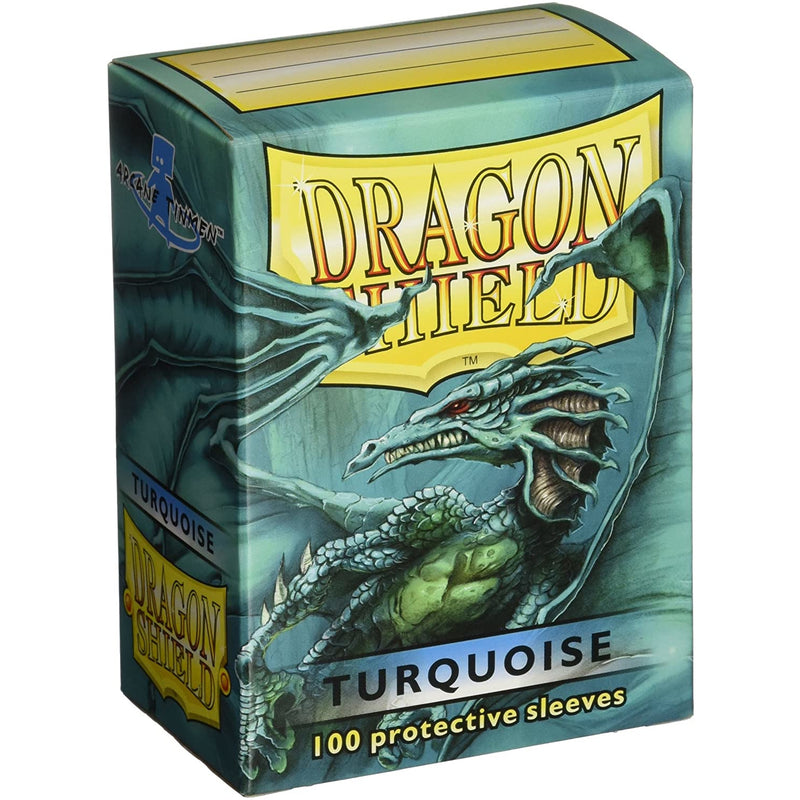 Dragon Shield 100 Pack: Turquoise