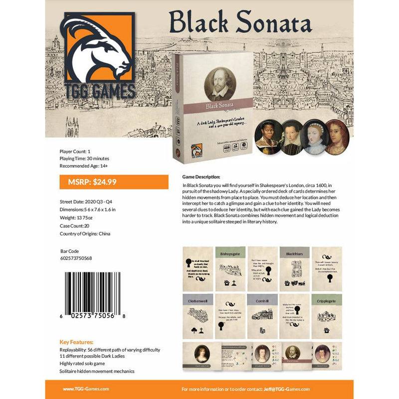 Black Sonata (Now Available)