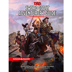 Dungeons and Dragons 5th Ed: Sword Coast Adventure Guide