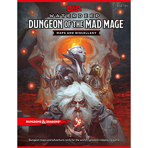 Dungeons and Dragons 5E: Waterdeep Dungeon of the Mad Mage Map Pack